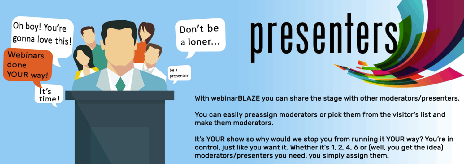 Taking webinars to the next level with webinarBLAZE.